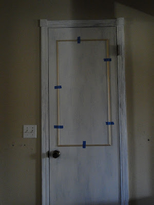 adding molding to flat doors