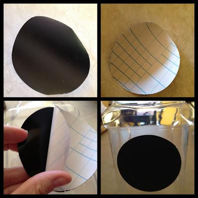 chalkboard vinyl labels