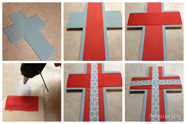 ribbon covered cross tutorial