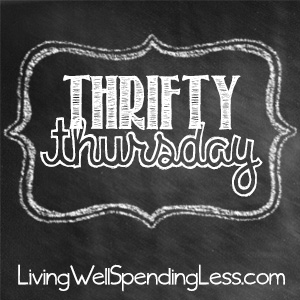 Thrifty Thursday Linky Party at LivingWellSpendingLess.com!