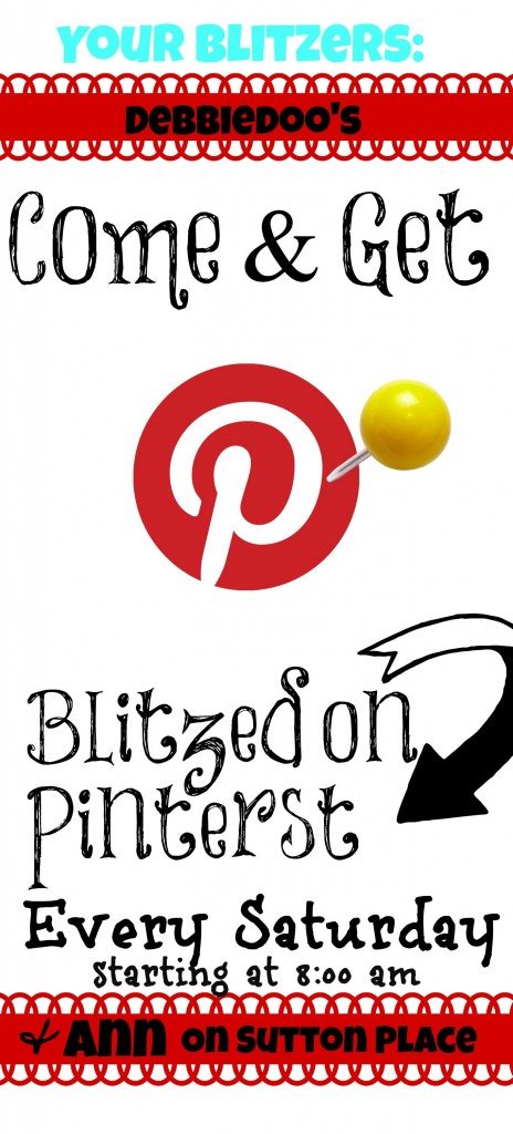 Blitzed on Pinterest Link Party