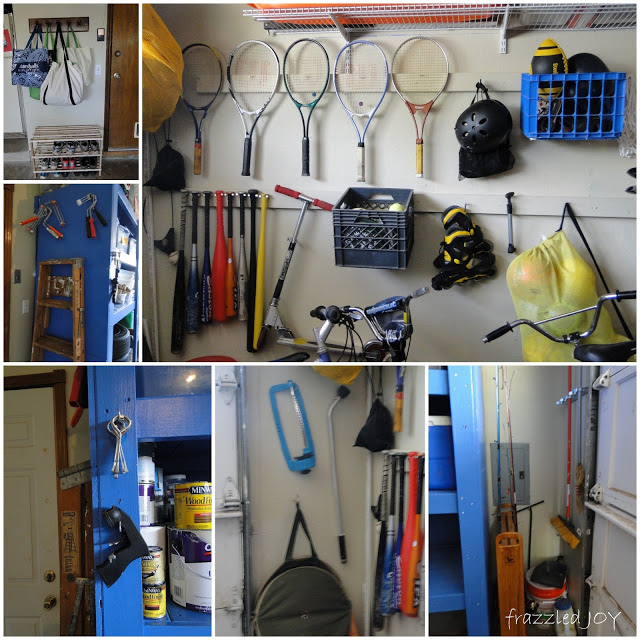 garage storage and organization