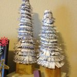 Sheet Music Christmas Tree Craft