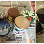 Creative Christmas Packaging With Re-purposed Tins