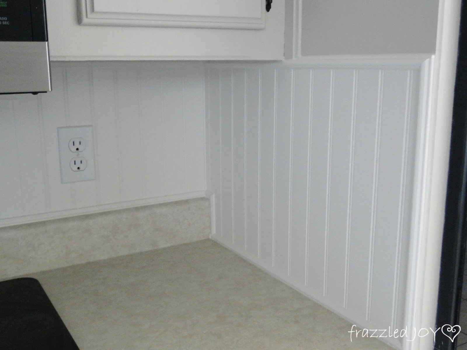 Updated Kitchen Backsplash - frazzled JOY