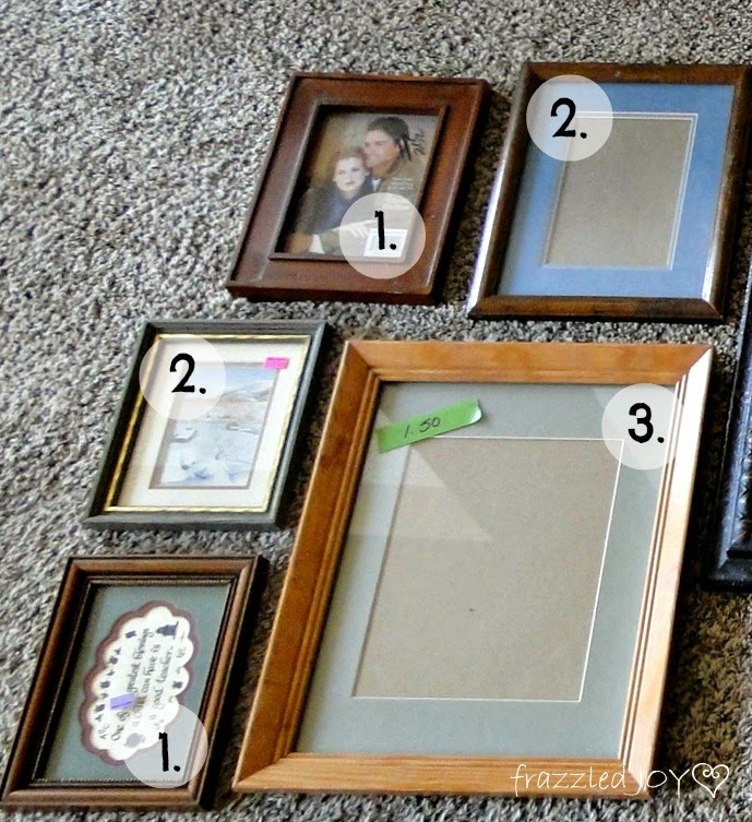 thrifted frames before