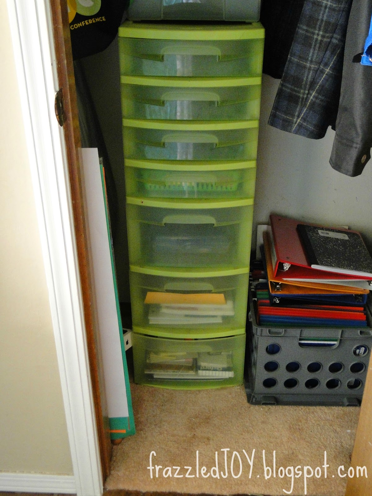 office supply and school supply storage