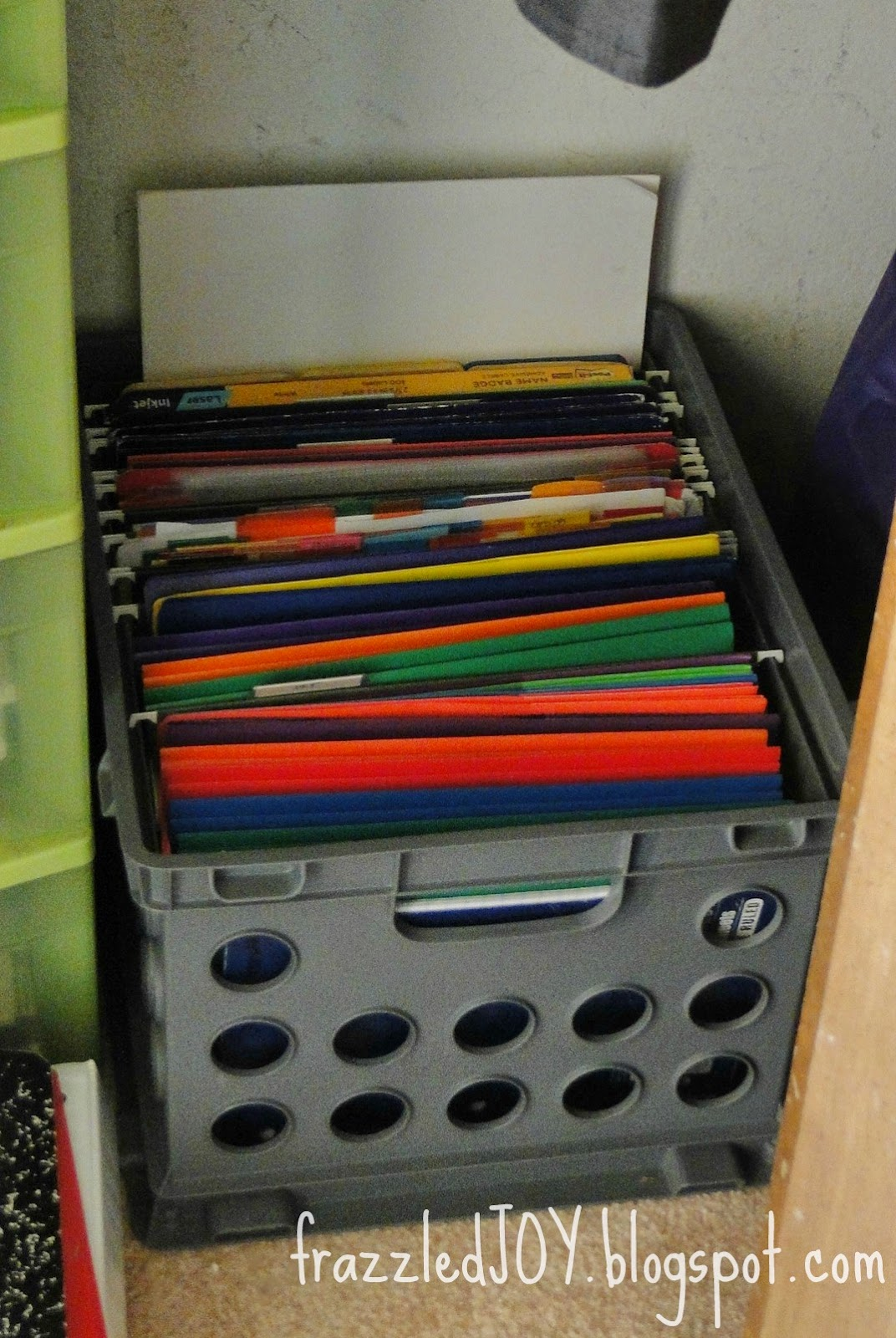 office and school supply storage