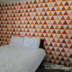 Triangle Feature Wall