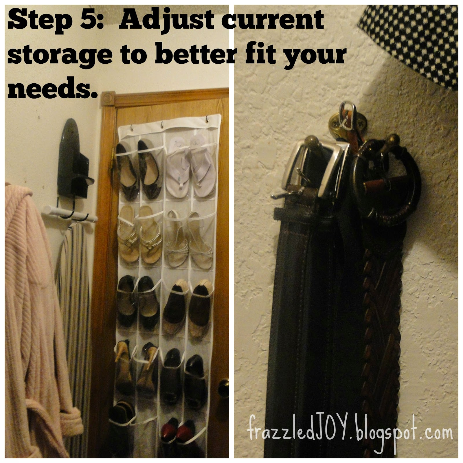 Storage solutions for small walk-in closets