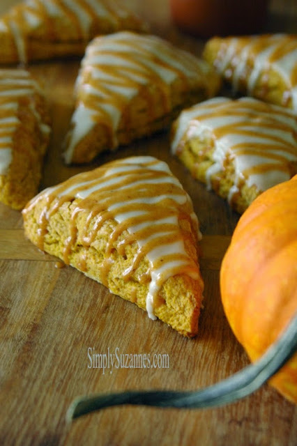 http://simplysuzannes.blogspot.com/2014/10/pumpkin-scones-with-pumpkin-spice-icing.html