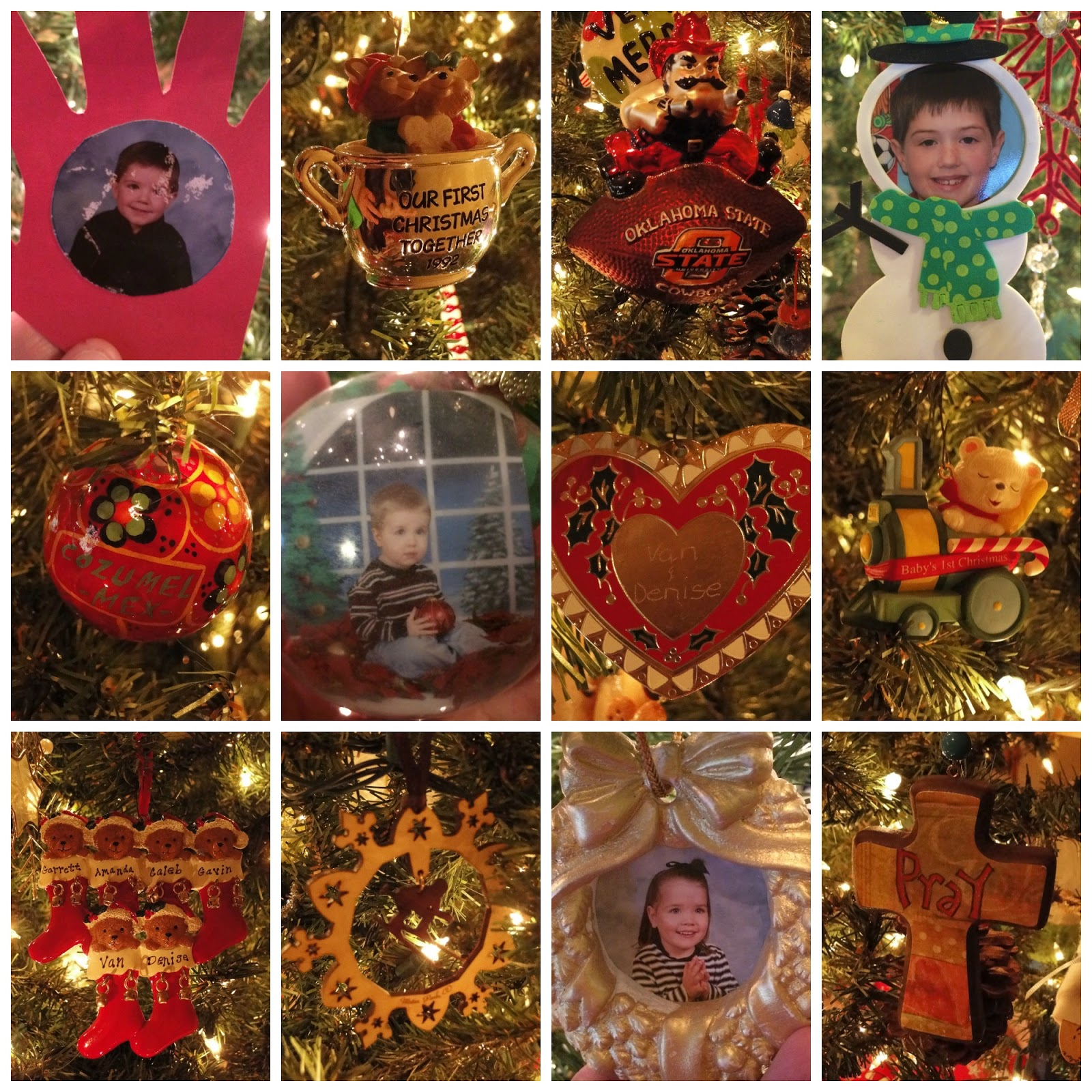Marriage ornaments - The Ornament On The Bottom Right Is A New Addition This Year Given To Me By One Of My Dearest Friends And Prayer Partners There Are Four Of Us