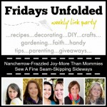 Fridays Unfolded Link Party {#139}