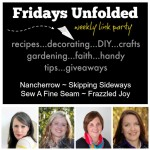 Fridays Unfolded Link Party {#160}