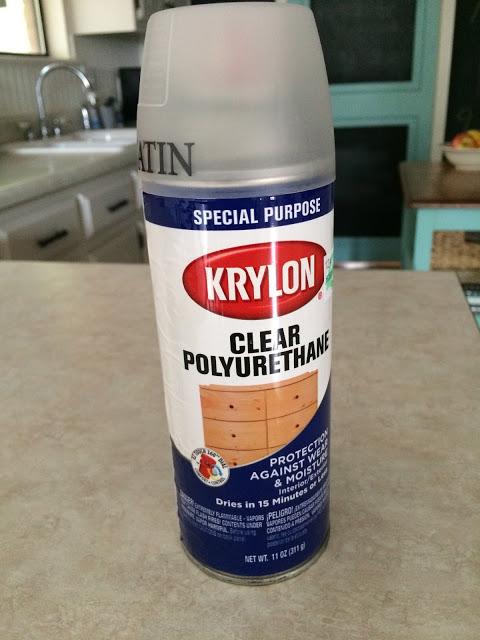 spray polyurethane finish