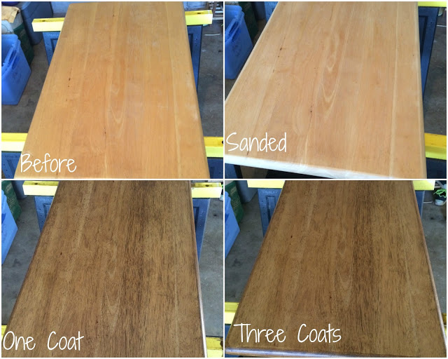 refinishing counter