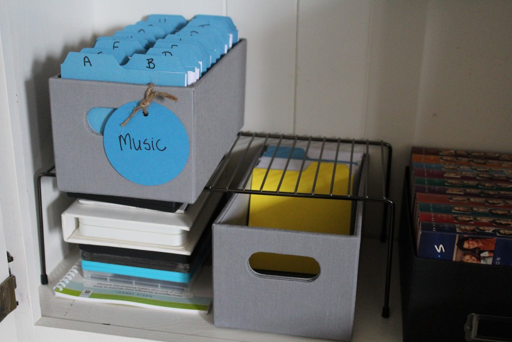 CD and DVD boxes for organized storage