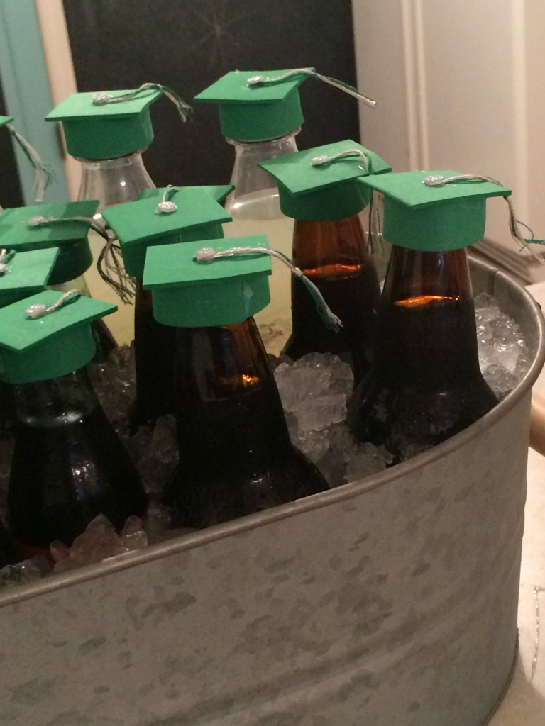 foam graduation cap bottle toppers