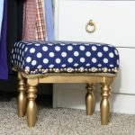 How To Upholster A Thrifted Stool