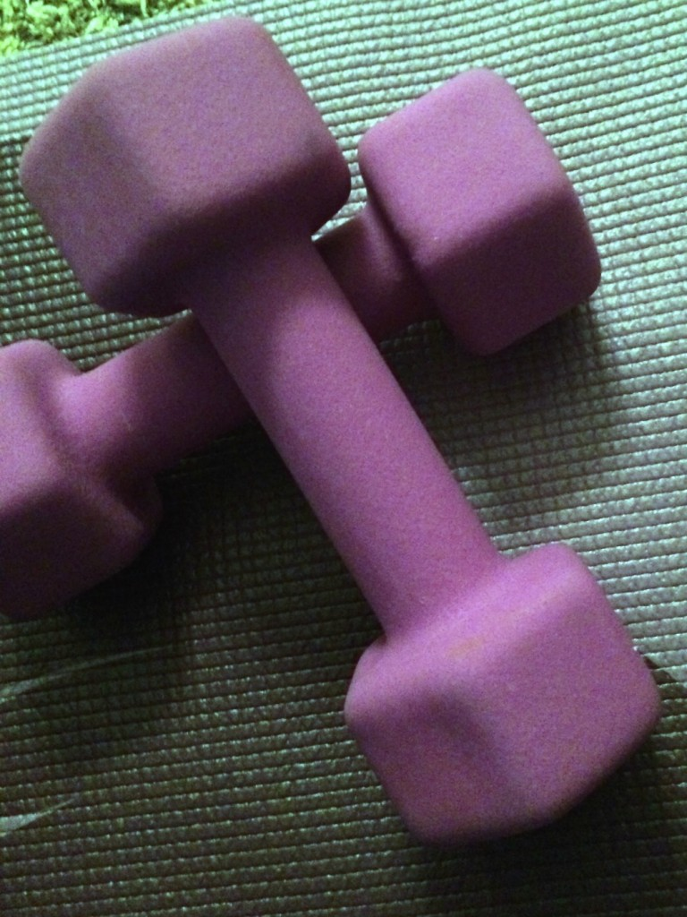 small weights for getting fit