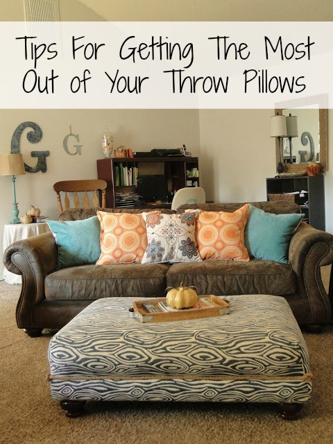 tips for getting the most out of your throw pillows