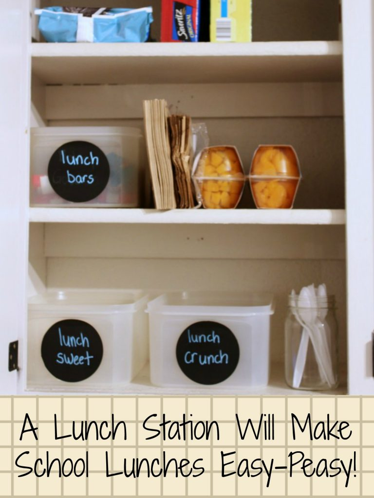 school lunch station