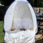 The HomeRight Small Spray Shelter