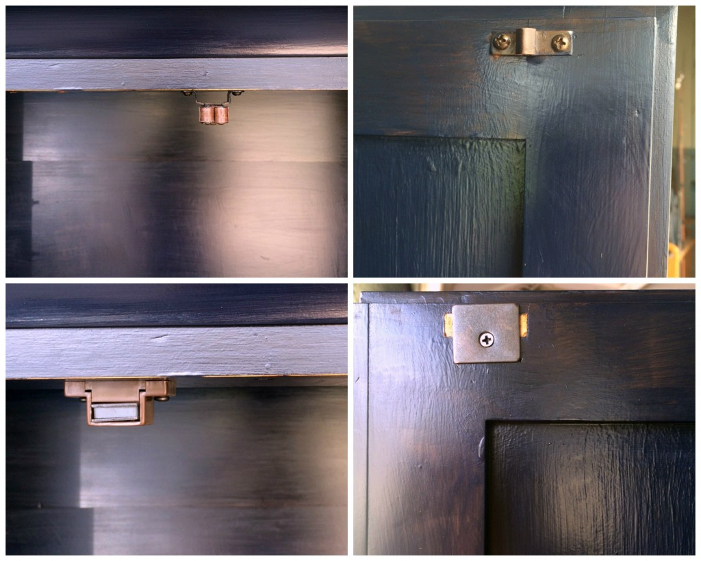 magnetic cabinet closure