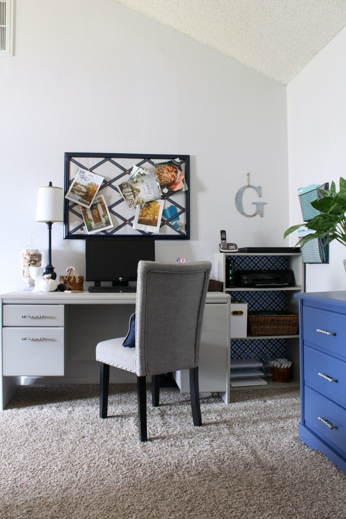 Even if you don't have a dedicated room for an office, you can always carve out a corner to create an office space.