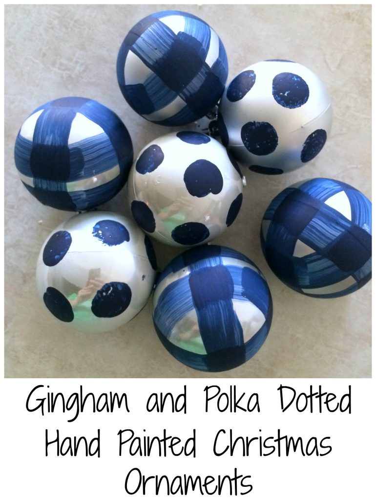 gingham-and-polka-dotted-hand-painted-christmas-ornaments