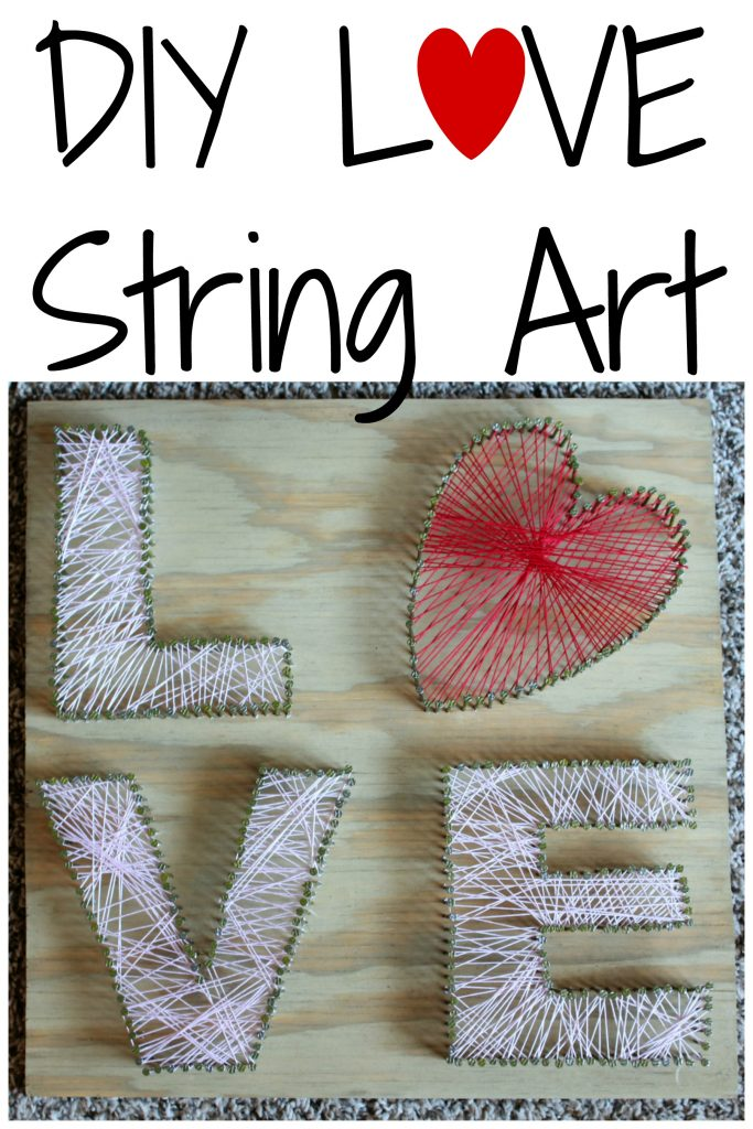 DIY LOVE String Art