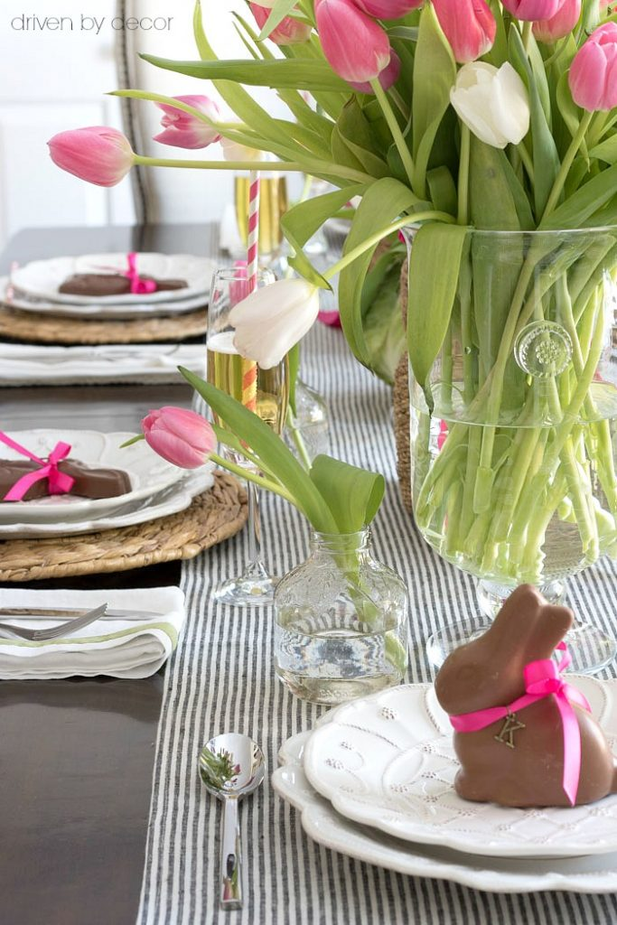 simple Easter table Driven by decor