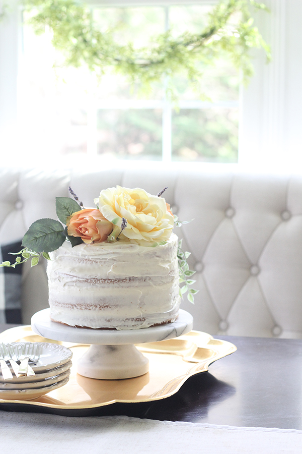 how to make a naked cake Less than perfect life of bliss