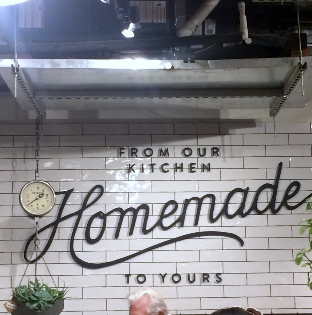 kitchen display at Magnolia Market