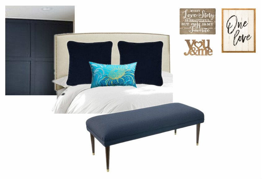 master bedroom mood board at frazzled joy
