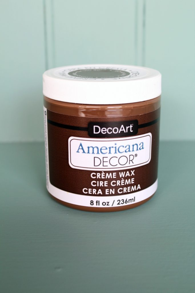 deep brown creme wax