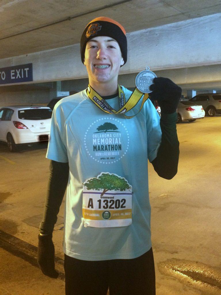 first half marathon in the books
