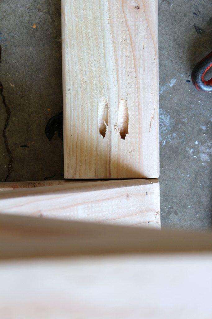 kreg jig screw holes