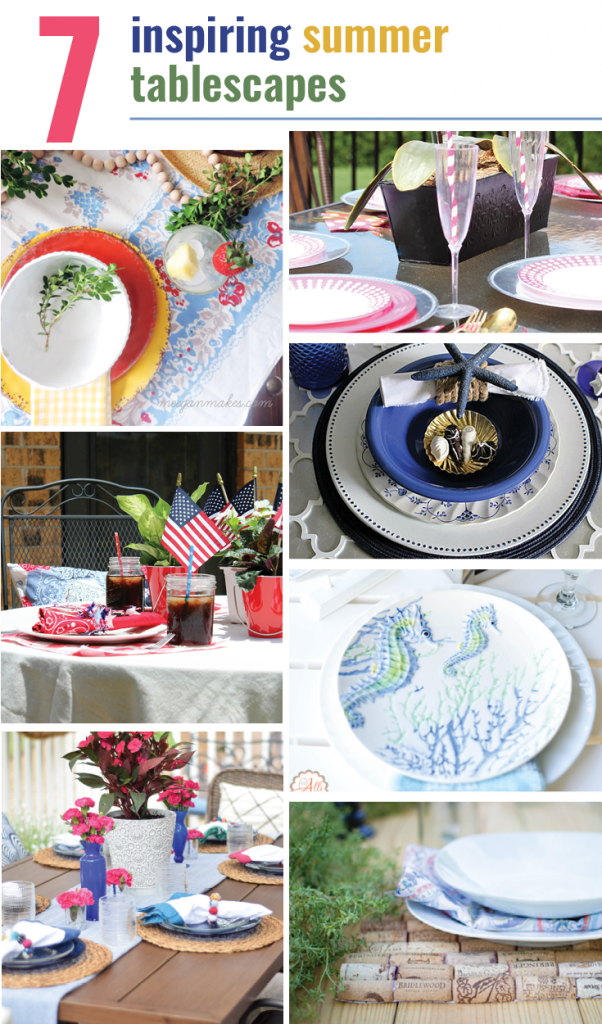 Seven Inspiring Summer Tablescapes
