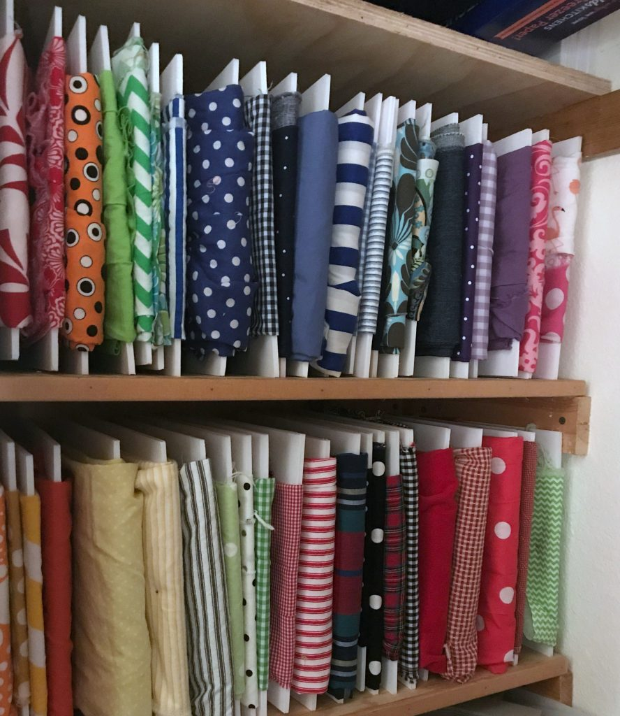 fabric storage and organization