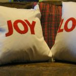 Christmas Pillow Fun
