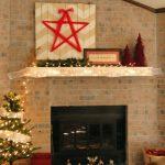 Christmas Mantel 2013