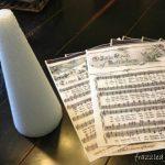 Sheet Music Christmas Tree Craft