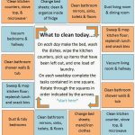 Daily Cleaning Schedule {Family Friday}