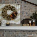 A Fall Mantel