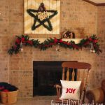 Christmas Mantel 2014