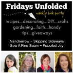 Fridays Unfolded Link Party {#142}