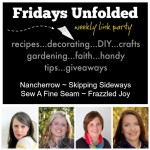 Fridays Unfolded Link Party {#155}