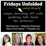 Fridays Unfolded Link Party {#159}