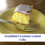 Grandma's Lemony Lemon Cake